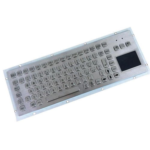 KBS-PC-F2T Stainless Steel Panel Mount Keyboard