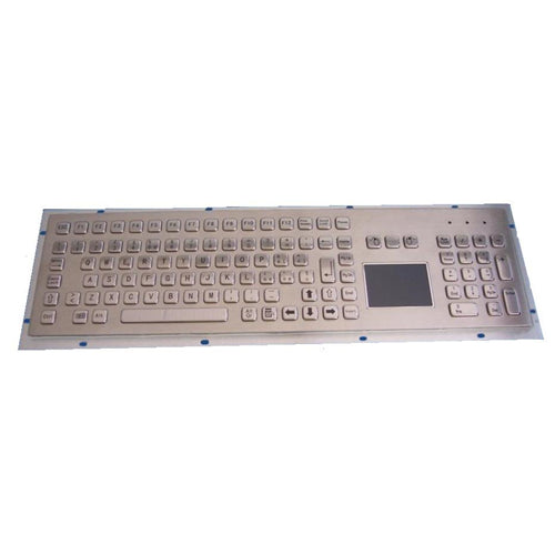 KBS-PC-F3T Stainless Steel Keyboard with Touchpad, FN Keys and Numeric Keypad