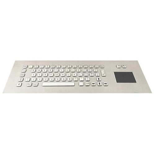 KBS-PC-IT-3 Stainless Steel Ruggedised Keyboard with Integrated Touchpad