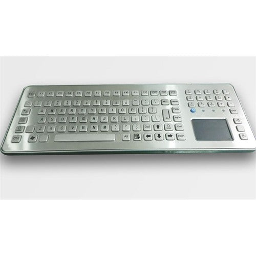 KBS-PC-K-F3T-Desk IP67 Stainless Steel Desktop Keyboard