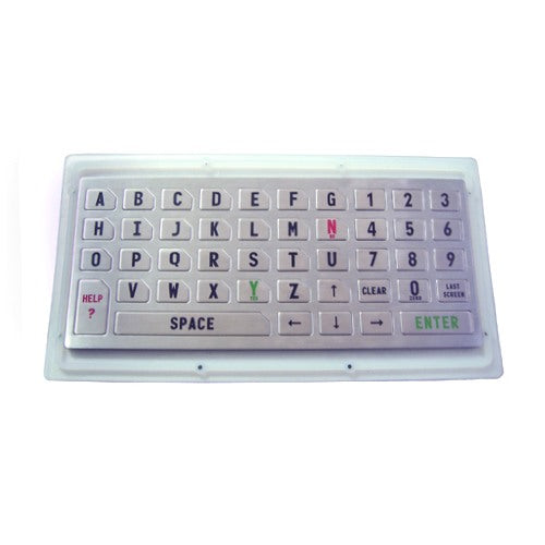 KBS-PC-K Stainless Steel Compact Keyboard