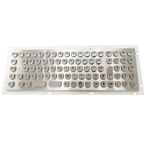 KBS-PC-U Stainless Steel Mini Keyboard