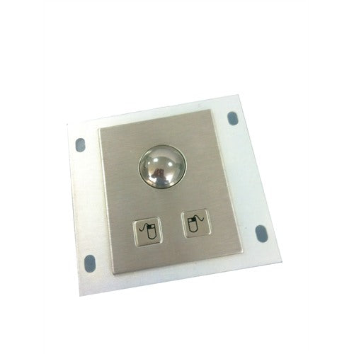 KBS-TB-25 Panel Mount Stainless Steel Trackball