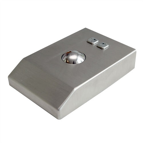 KBS-TB-38-DESK Desktop Stainless Steel Trackball