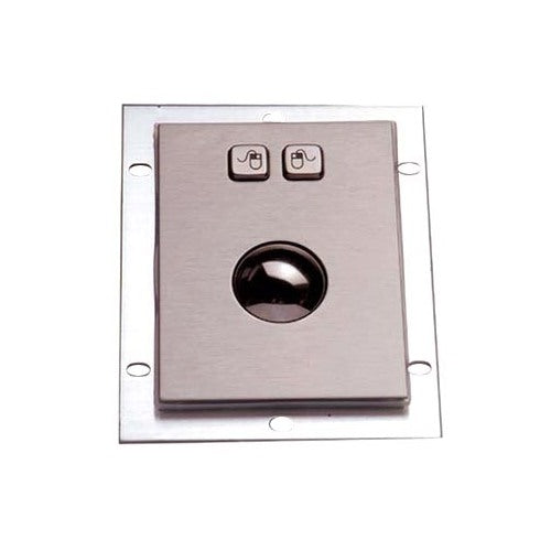 KBS-TB-38G Panel Mount Stainless Steel Optical Trackball