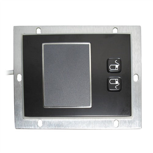 KBS-TB-A-BL Stainless Steel Panelmount Touchpad in Black
