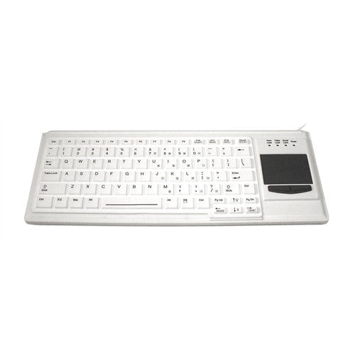 Accuratus K82F Waterproof Keyboard with Integrated Touchpad
