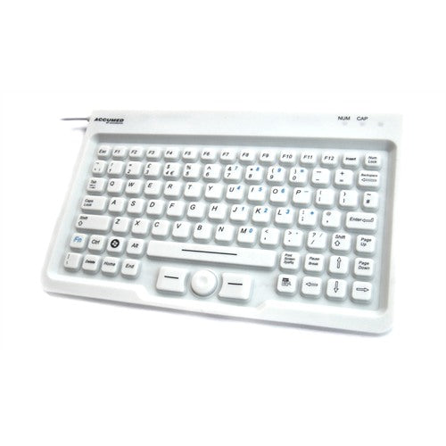 Accumed Medical Mini Keyboard With Integrated Hula-Point