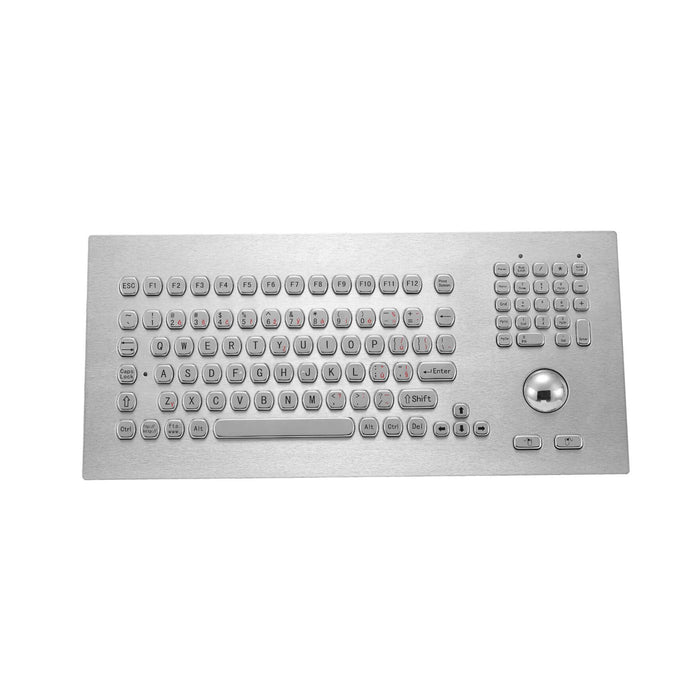 KBS-PC-M385 Stainless Steel Keyboard