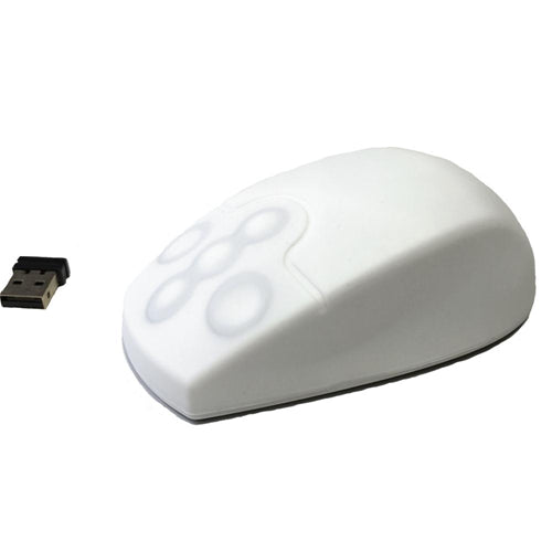 Accumed Wireless Medical Mouse - White
