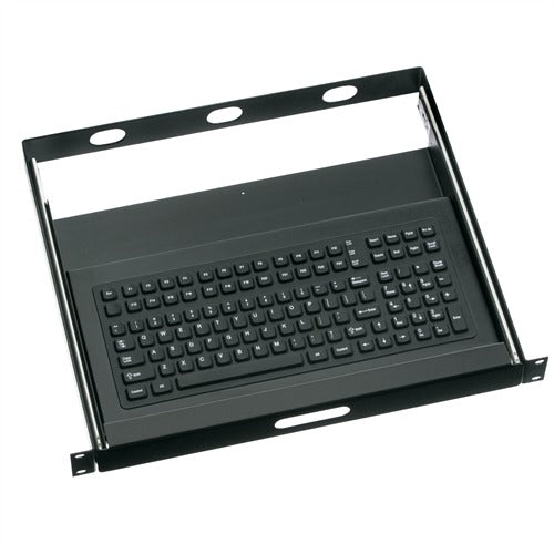 iKey RDC-1000-16-TK Rackmount Keyboard with T - Handle Key