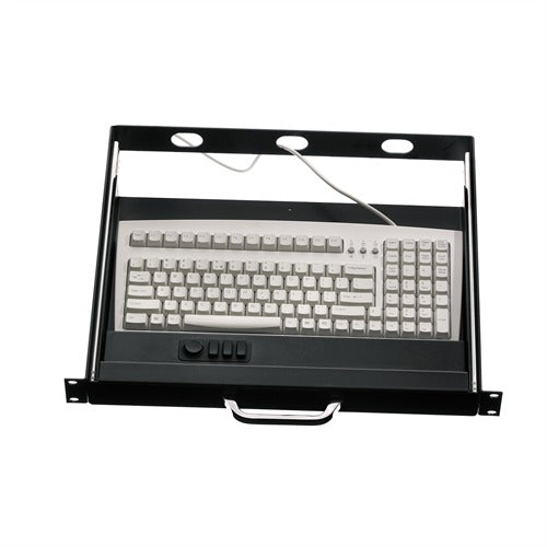 iKey RDC-1535 Rackmount Keyboard with T - Handle Key