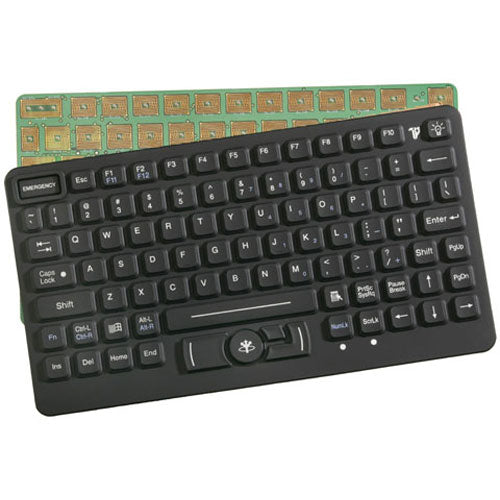iKey SL-86-911-OEM Rugged Backlit OEM Keyboard with Force Sensing Resistor