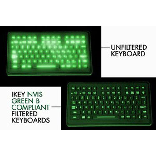 iKey SL-88-NV Backlit Industrial Keyboard