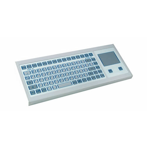 InduKey TKF-085a-TOUCH-KGEH Flat Input Keyboard with Integrated Touchpad