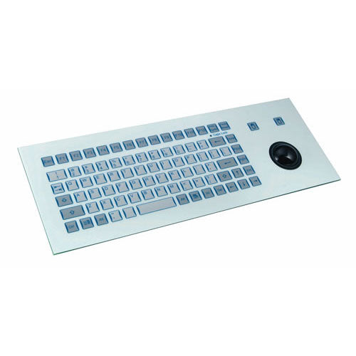 InduKey TKF-085b-TB38-MODUL Metal Dome Keyboard with Integrated Trackball