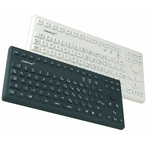 InduKey TKG-086-MB-IP68 Keyboard with Mouse Buttons
