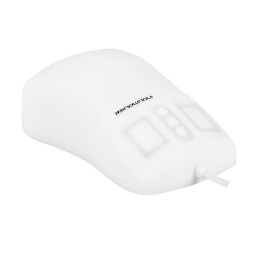 Indukey TKH-MOUSE-SCROLL-IP68-WHITE-LASER Ergonomic Mouse