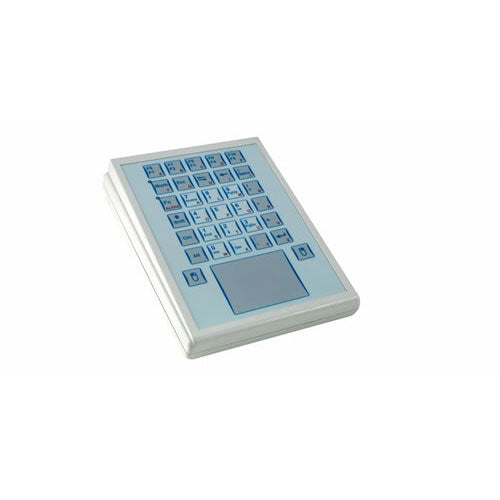 InduKey TKS-030-TOUCH Keyboard with Integrated Touchpad