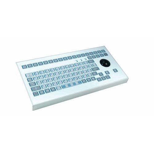 InduKey TKS-088a-TB38-KGEH Keyboard with Integrated Trackball