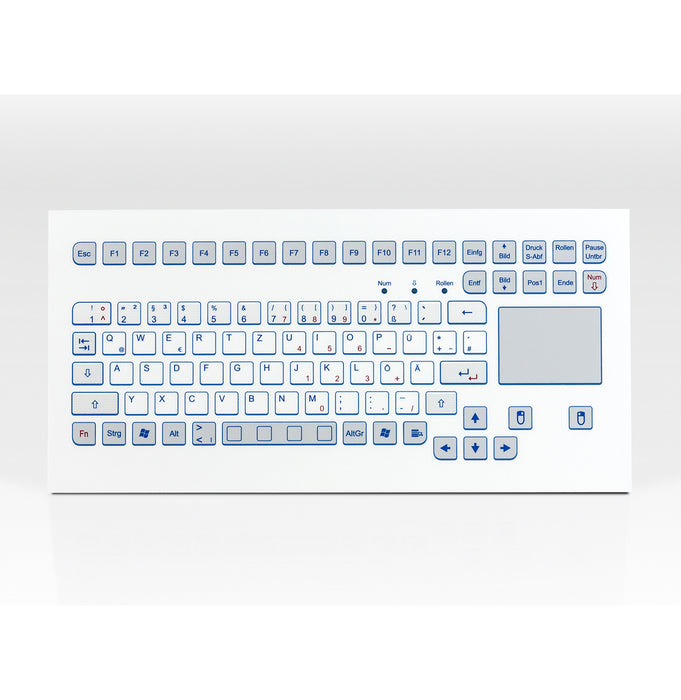 InduKey TKS-088c-TOUCH-MODUL Keyboard with Integrated Trackpad