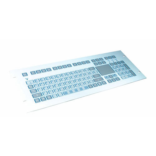 InduKey TKS-105a-TOUCH-FP Keyboard with Integrated Touchpad
