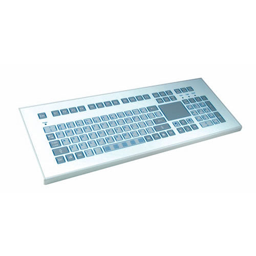 InduKey TKS-105a-TOUCH-KGEH Keyboard with Integrated Touchpad