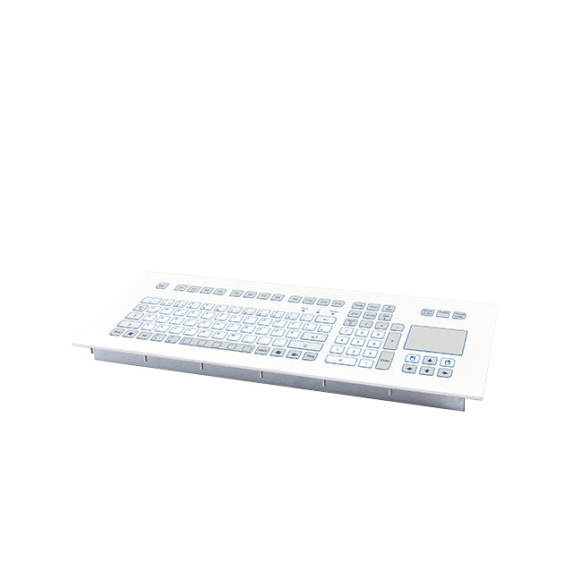 InduKey TKS-105c-TOUCH-MODUL Keyboard with Integrated Touchpad
