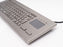 InduKey TKV-084-FIT-TOUCH-IP65-MGEH Compact Stainless Steel Keyboard with Integrated Touchpad