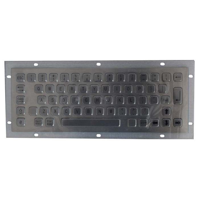 KBS-PC-C Stainless Steel Panel Mount Keyboard