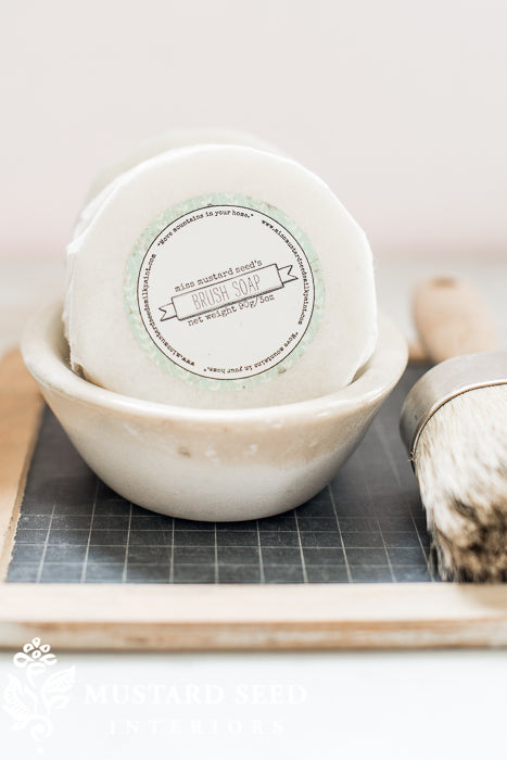 MMS Brush Soap Round