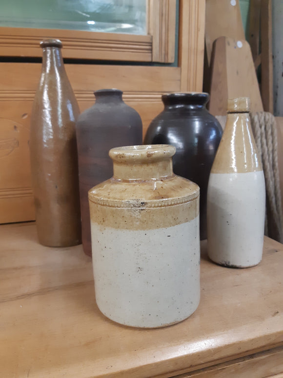 Antique Clay Bottles