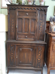 Small 2 Door China Cabinet