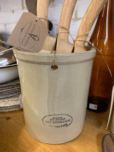1 Gallon crock with upside down stamp