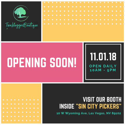 Tree Hugger Boutique Opens at Vegas' Sin City Pickers. on Nov. 1