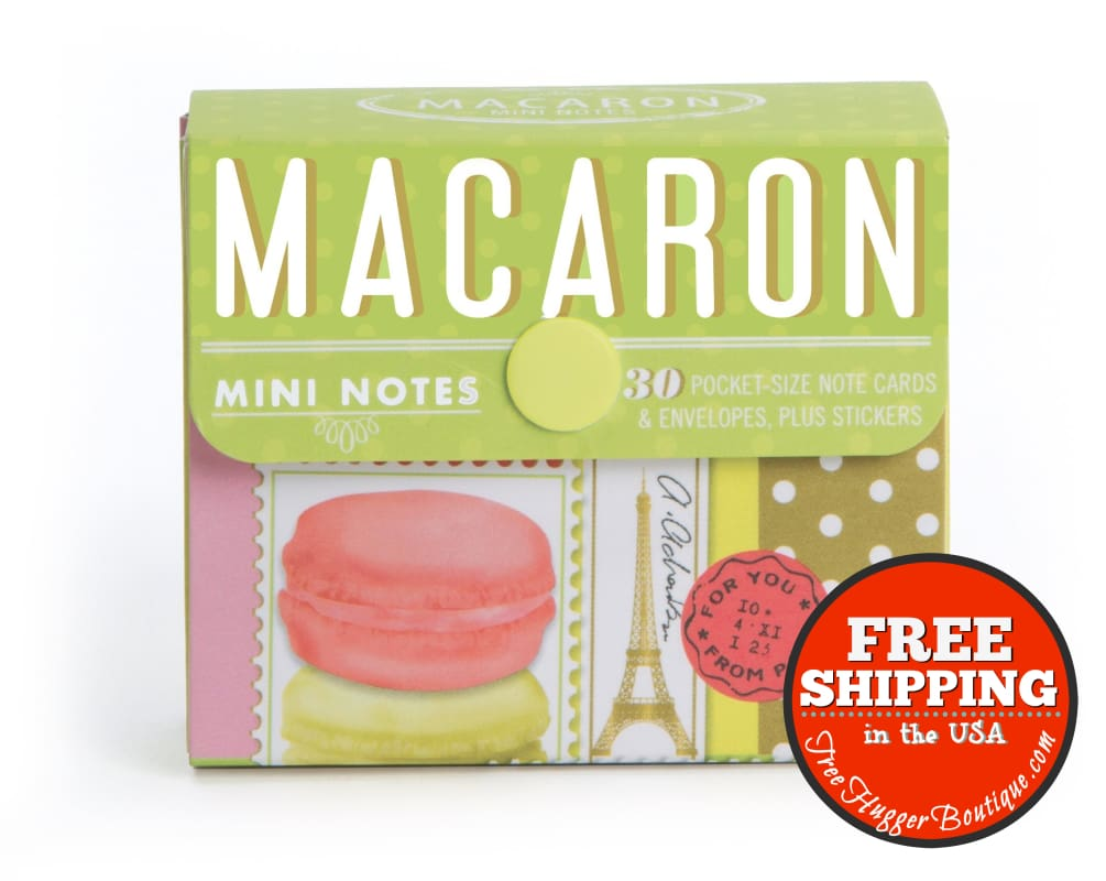 Macaron Mini Notes By Chronicle Books - Office Supplies