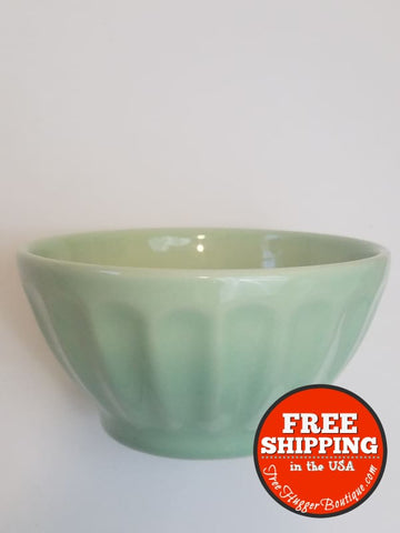 6In Primagera Latte Bowl In Mint - Made In Portugal