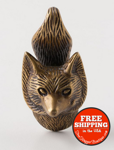 New Anthropologie Through The Woods Knob Fox - Hardware