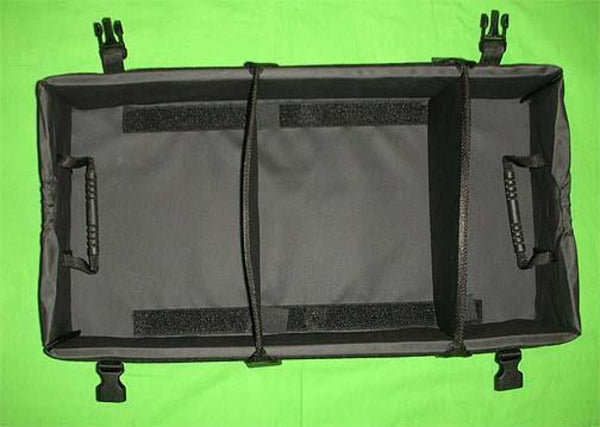Genuine Oem Land Rover Collapsible Rear Cargo Organizer Black - Auto