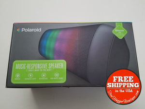 New Polaroid Led Music Responsive Speaker (Bluetooth) - Consumer Electronics