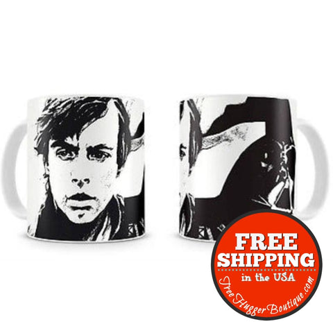 New Star Wars Mug - Luke Skywalker & Darth Vader - 8436546893363 - Kitchen