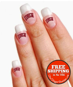 New Unlv Rebels Fingernail Or Face Tattoos - Nails