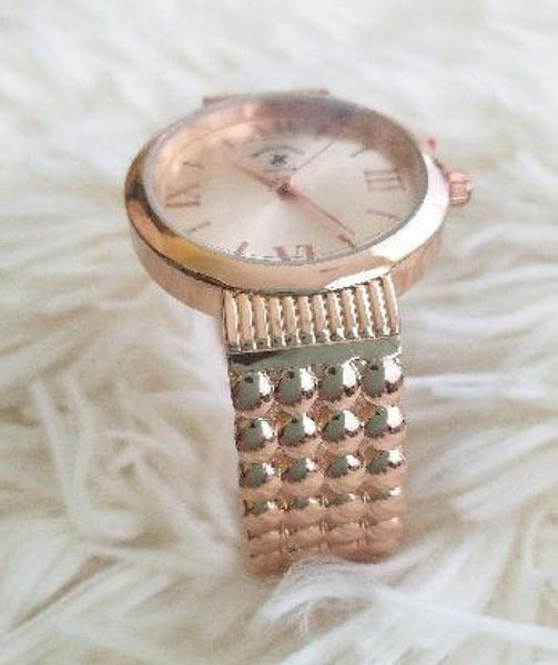 New Womens Beverly Hills Polo Club Rose Gold Watch No Clasp - Watches