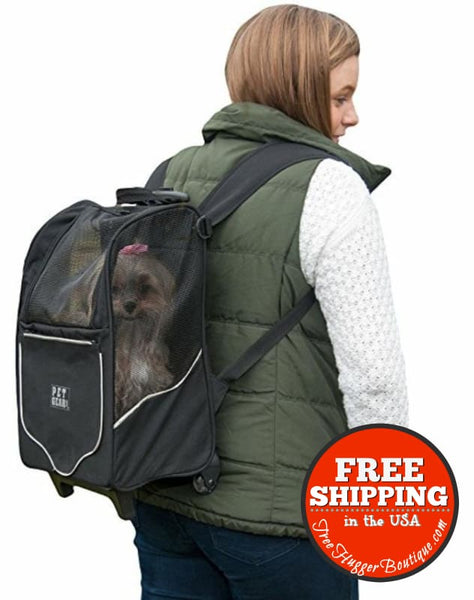 Pet Gear I-Go2 Sport Roller Backpack For Cats And Dogs - Pet Supplies