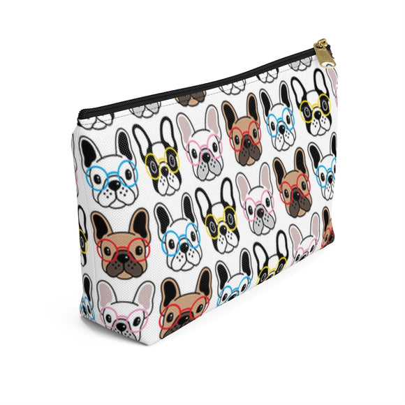 Frenchies Accessory Pouch w T-bottom