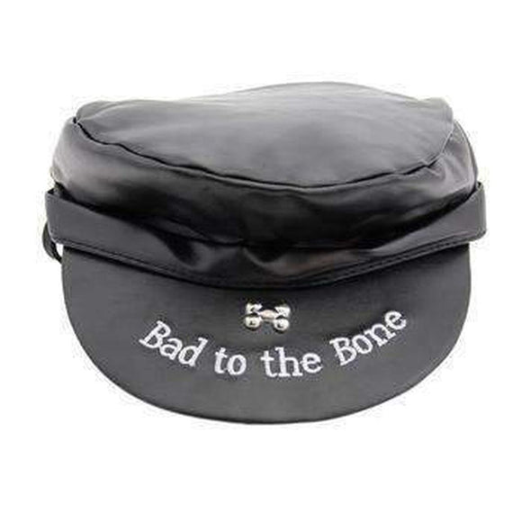 Biker Hat - Bad to the Bone - 2 colors