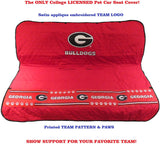 GA Bulldogs Pet Car Seat Protector