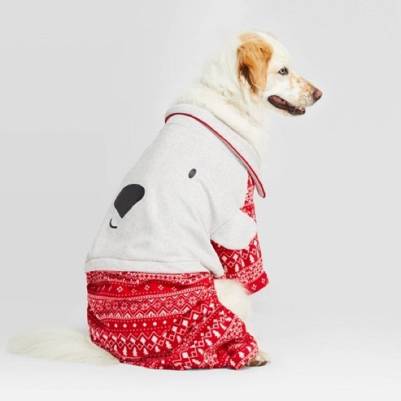 Polar Bear Big Dog Pajamas