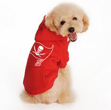 Tampa Bay Buccaneers Handmade Pet Hoodies