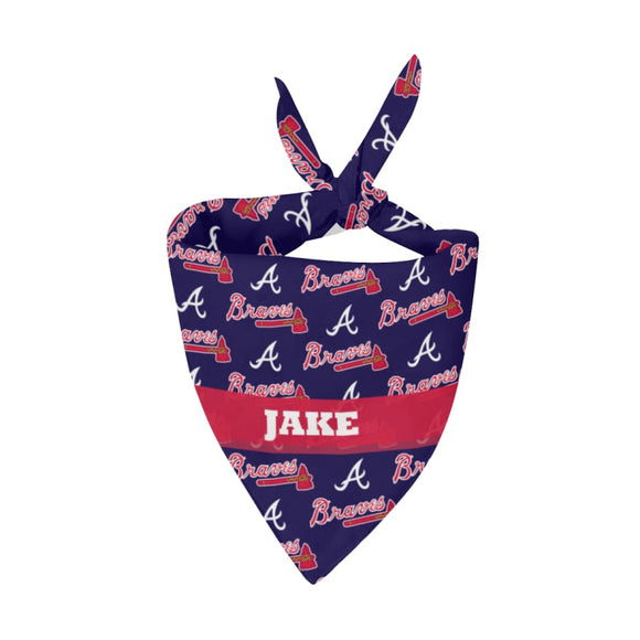 Atlanta Braves Premium Bandana Pet